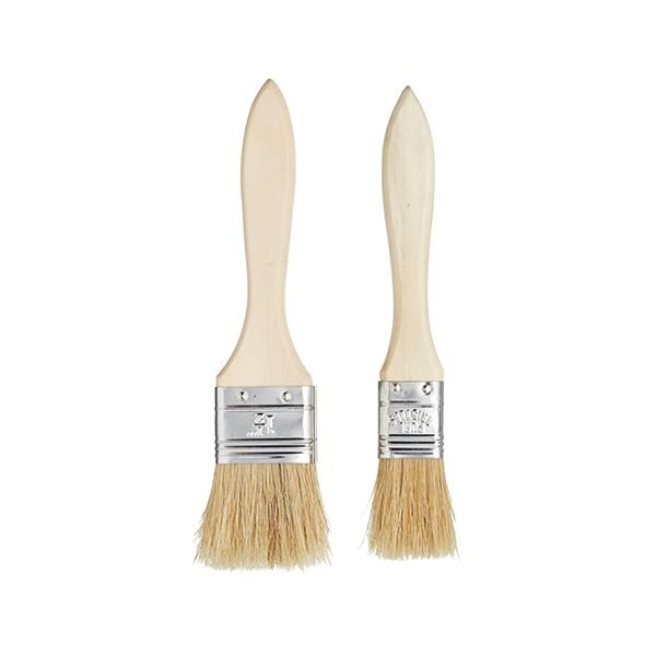 KitchenCraft Flat Pasty Brush Pack Of Two