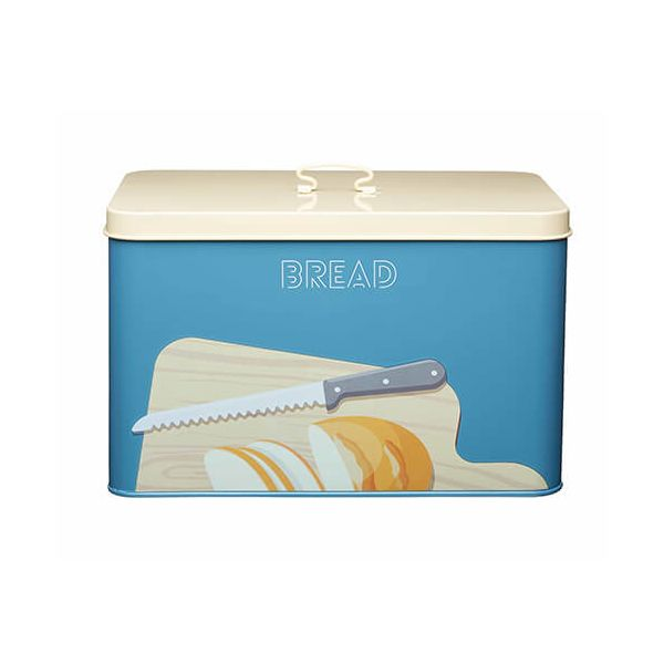 KitchenCraft Bright Printed Bread Bin