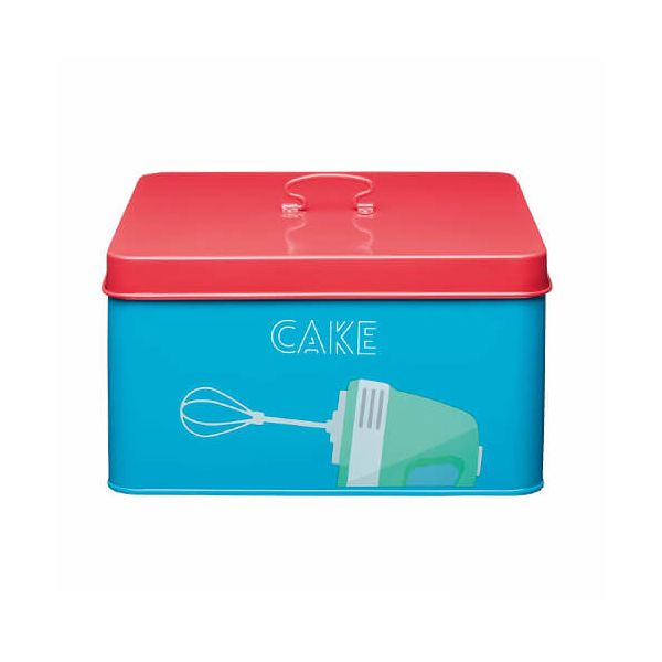 KitchenCraft Bright Printed Cake Tin