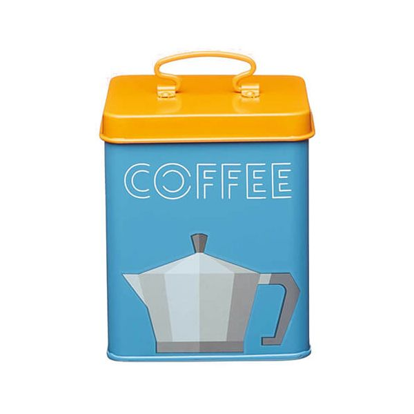 KitchenCraft Bright Printed Coffee Canister