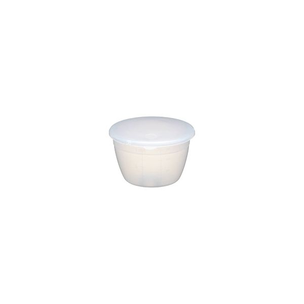 KitchenCraft Pudding Basin and Lid 0.5 Pint (275ml)