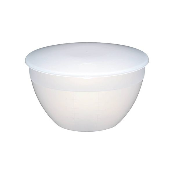 KitchenCraft Pudding Basin and Lid 4 Pints (2.3 Litres)