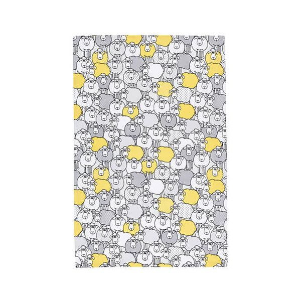 KitchenCraft Sheep Tea Towels 2 Piece Set