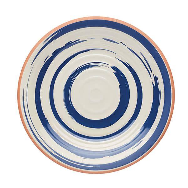 KitchenCraft Lulworth Melamine 21cm Snack Plate