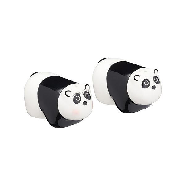 KitchenCraft Panda Salt and Pepper Shakers