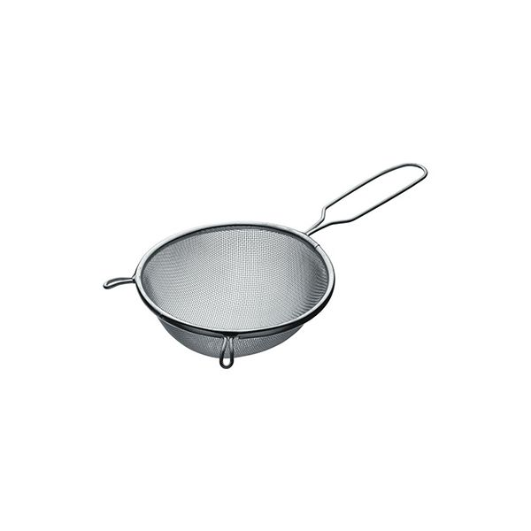 KitchenCraft Tinned Round Sieve with Wire Handle 16cm