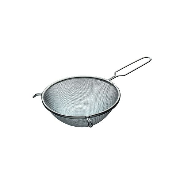 KitchenCraft Tinned Round Sieve with Wire Handle 18cm