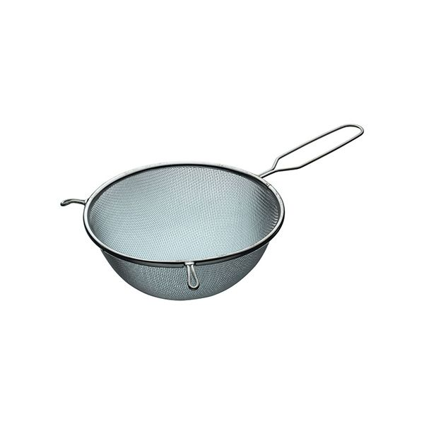 KitchenCraft Tinned Round Sieve with Wire Handle 20cm