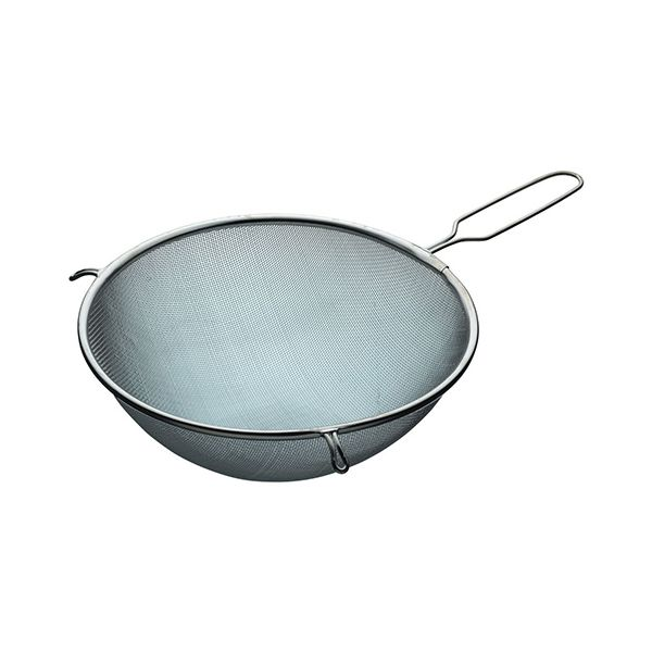 KitchenCraft Tinned Round Sieve with Wire Handle 24cm