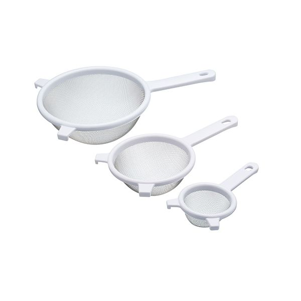 KitchenCraft Set of Three Fine Mesh Sieves