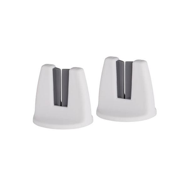 KitchenCraft Set Of 2 Towel Holders White