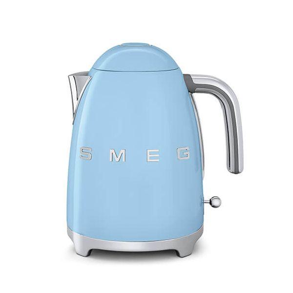 Smeg Kettle Pastel Blue 3D Logo