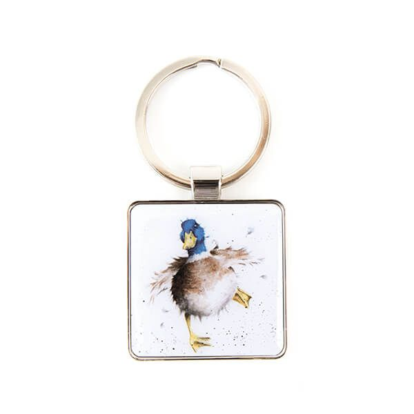 Wrendale Designs A Waddle And A Quack Keyring