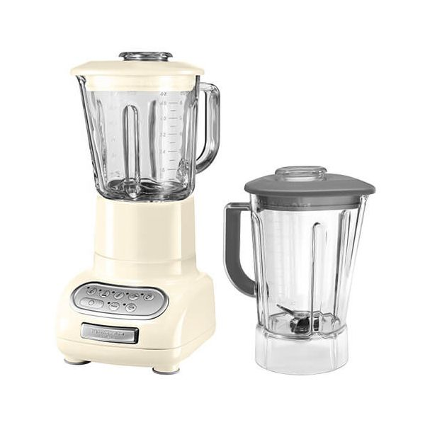 KitchenAid Artisan Almond Cream Blender with Culinary Jar and FREE Gift