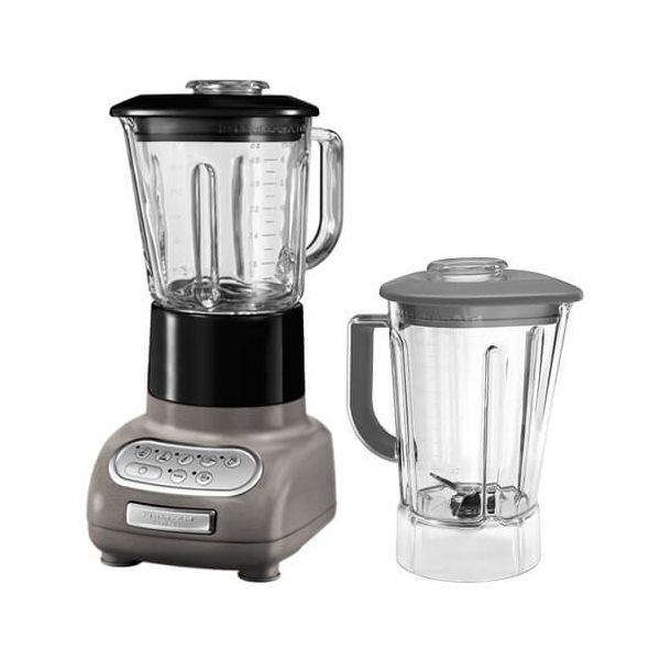 KitchenAid Artisan Cocoa Silver Blender with Culinary Jar and FREE Gift