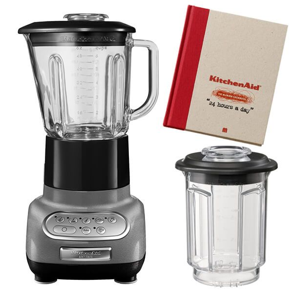KitchenAid Artisan Medallion Silver Blender with Culinary Jar and FREE Gifts