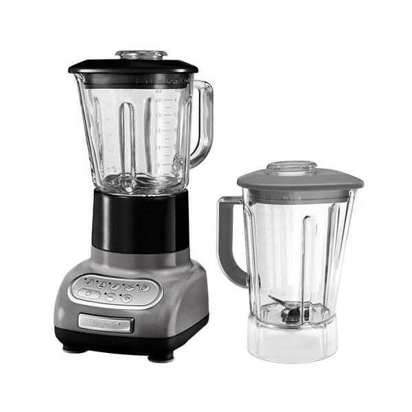 KitchenAid Artisan Medallion Silver Blender with Culinary Jar and FREE Gift