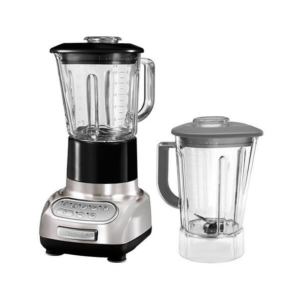 KitchenAid Artisan Brushed Nickel Blender with Culinary Jar and FREE Gift