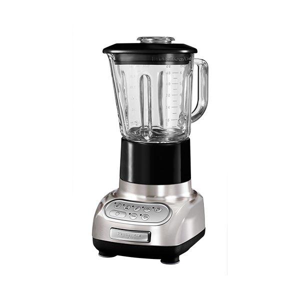 KitchenAid Artisan Brushed Nickel Blender with Culinary Jar