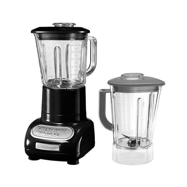 KitchenAid Artisan Onyx Black Blender with Culinary Jar and FREE Gift