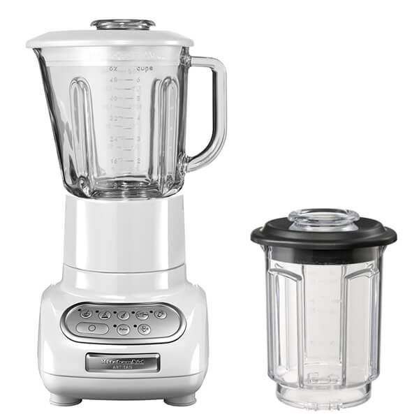 KitchenAid Artisan White Blender with Culinary Jar and FREE Gift