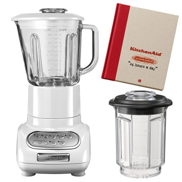KitchenAid Artisan White Blender with Culinary Jar and FREE Gifts