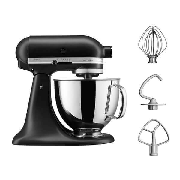 KitchenAid Artisan Mixer 125 Matte Black