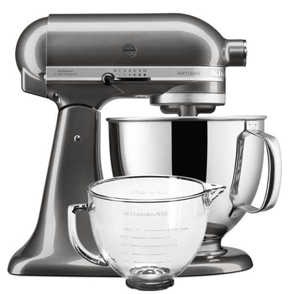 KitchenAid Artisan Mixer 125 Liquid Graphite With FREE Gift
