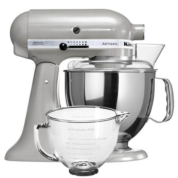 KitchenAid Artisan Mixer Metallic Chrome with FREE Gift