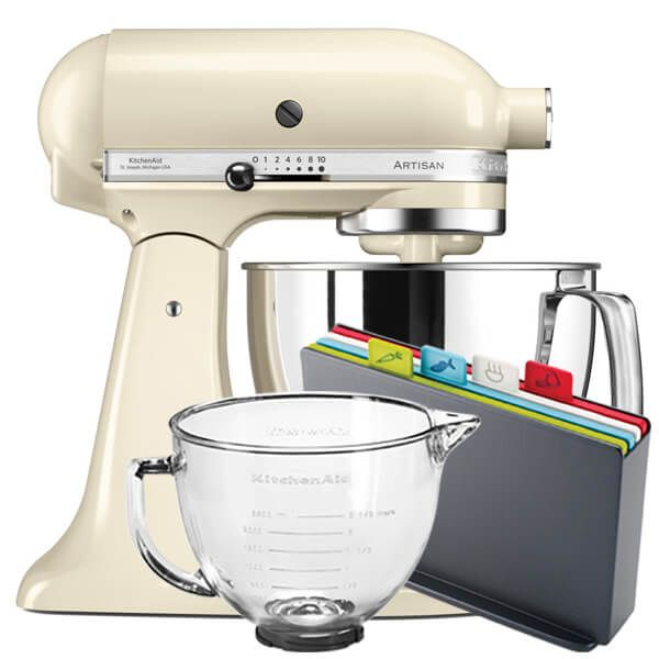 KitchenAid Artisan Mixer 175 Almond Cream With FREE Gifts