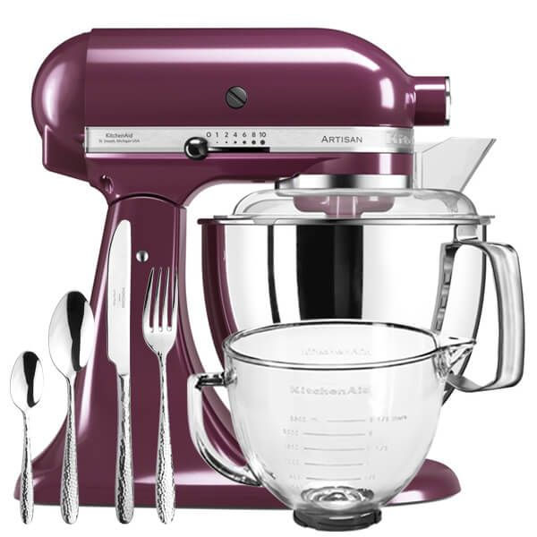 KitchenAid Artisan Mixer 175 Boysenberry With FREE Gifts
