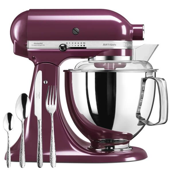 KitchenAid Artisan Mixer 175 Boysenberry With FREE Gift