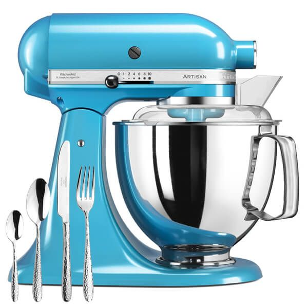 KitchenAid Artisan Mixer 175 Crystal Blue With FREE Gift