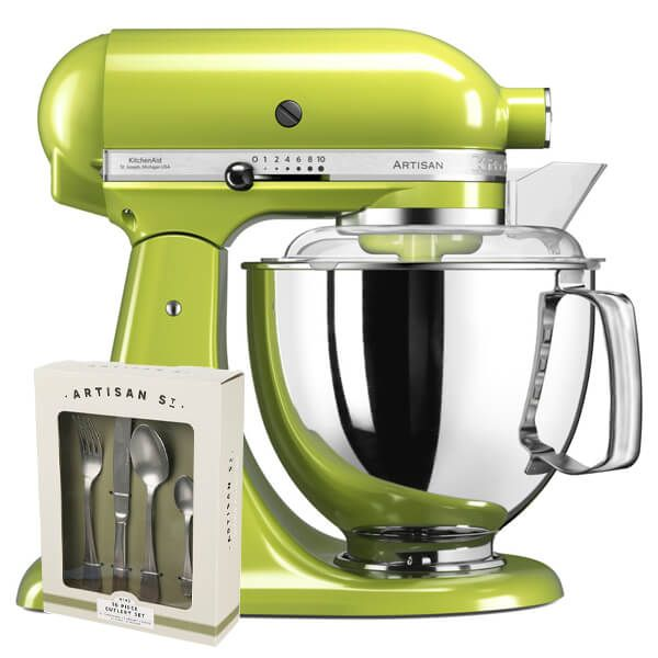 KitchenAid Artisan Mixer 175 Green Apple With FREE Gift