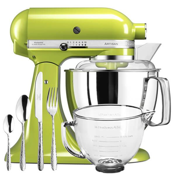KitchenAid Artisan Mixer 175 Green Apple With FREE Gifts
