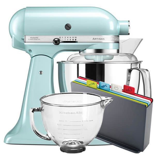 KitchenAid Artisan Mixer 175 Ice Blue With FREE Gifts