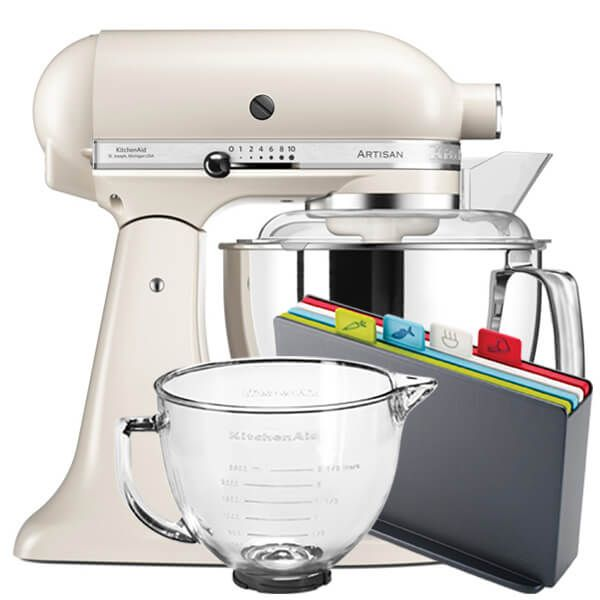 KitchenAid Artisan Mixer 175 Cafe Latte With FREE Gifts