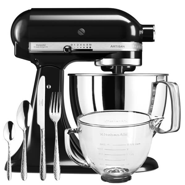 KitchenAid Artisan Mixer 175 Onyx Black With FREE Gifts
