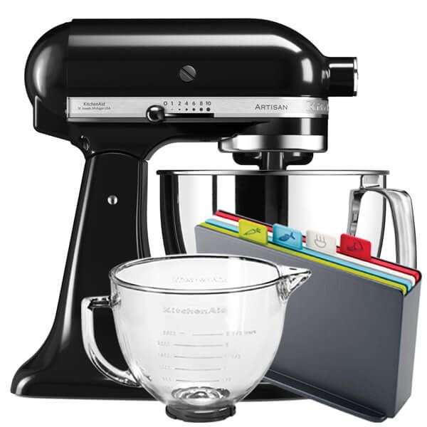 KitchenAid Artisan Mixer 175 Onyx Black With FREE Gifts