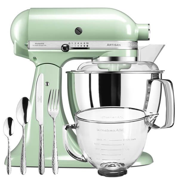 KitchenAid Artisan Mixer 175 Pistachio With FREE Gifts