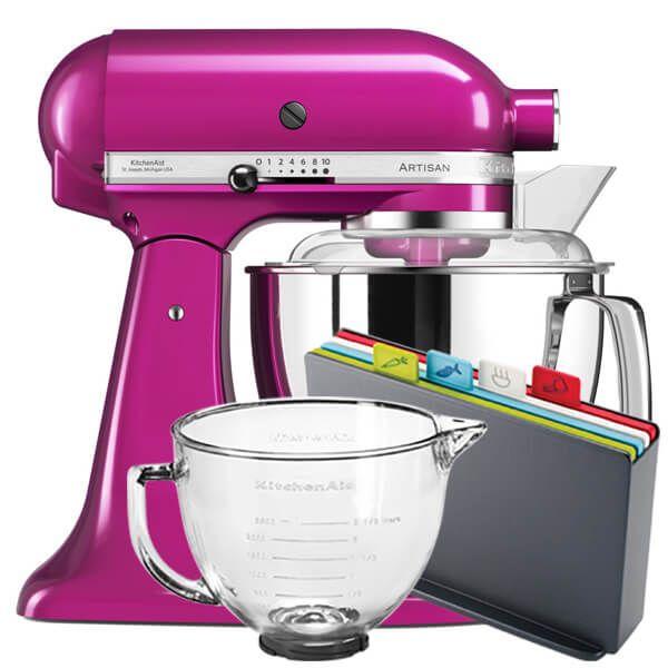 KitchenAid Artisan Mixer 175 Raspberry Ice With FREE Gifts