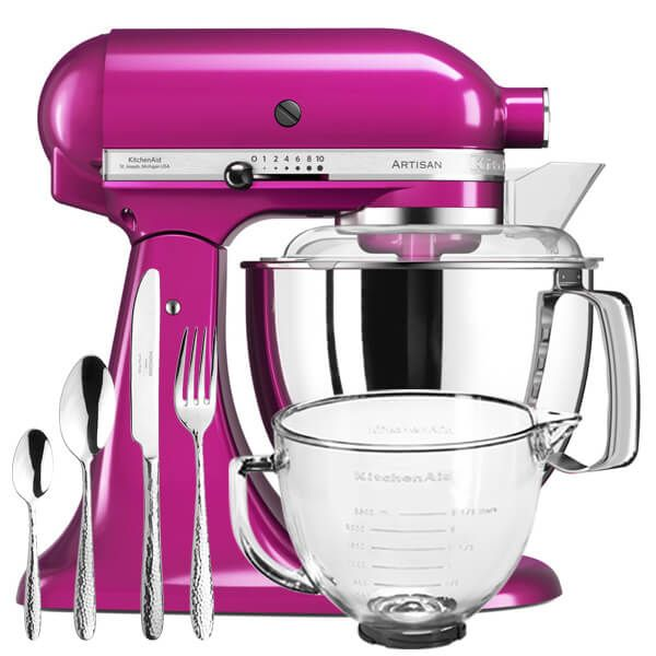 KitchenAid Artisan Mixer 175 Raspberry Ice With FREE Gifts