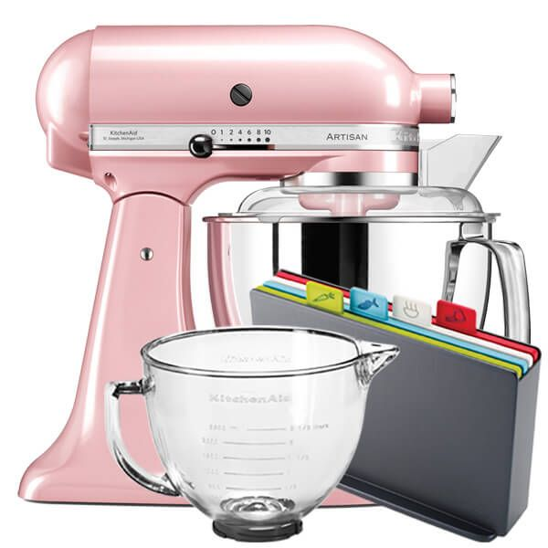 KitchenAid Artisan Mixer 175 Silk Pink With FREE Gifts