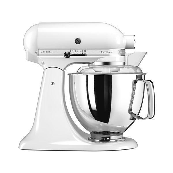 KitchenAid Artisan 175 White Food Mixer