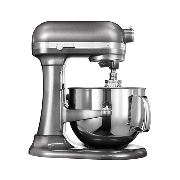KitchenAid Artisan Medallion Silver 6.9L Bowl Lift Food Mixer