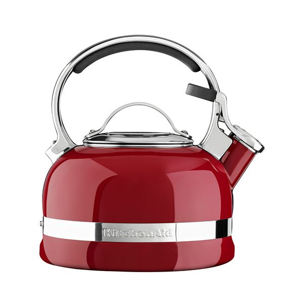 KitchenAid Empire Red Stove Top Kettle 1.9 Litre