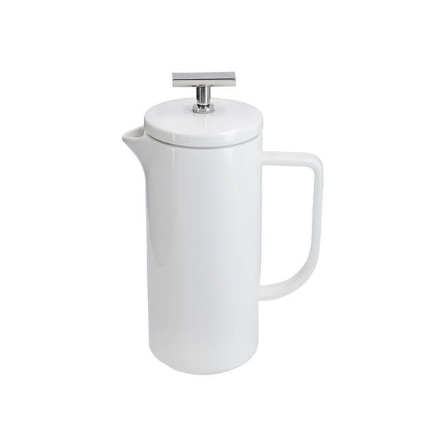 La Cafetiere 480ml 4 Cup White Cafetiere
