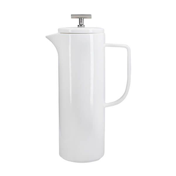 La Cafetiere 1.2L 8 Cup White Cafetiere