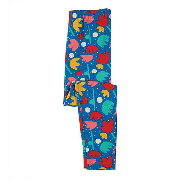 Frugi Organic Lotus Bloom Libby Printed Leggings