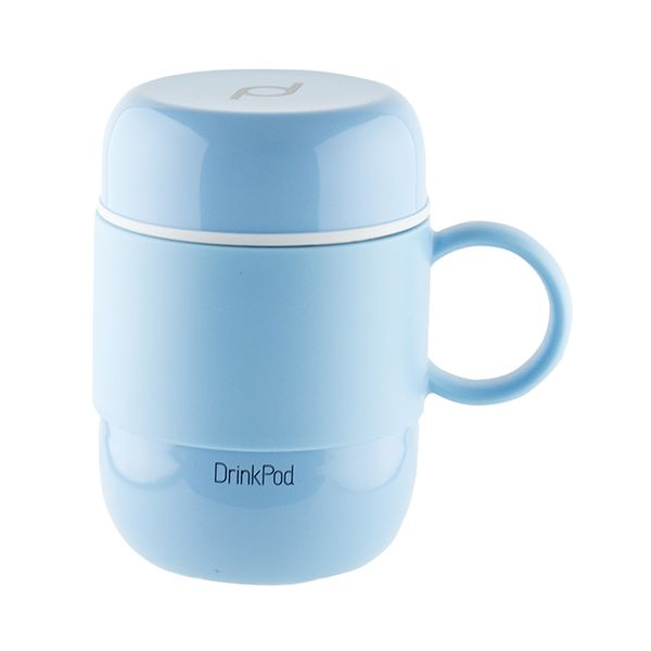 Grunwerg Pioneer Vacuum Mini Mug With Handle Blue